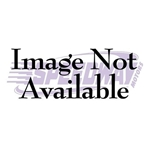 Lokar BAG-6180 67-76 Mopar Billet Alum Automatic Brake Pedal w/ Rubber