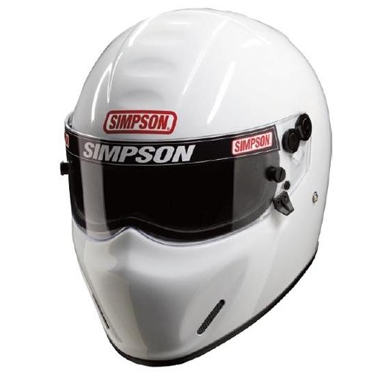 Simpson Racing x Bandit Helmet SA10 SA 2010 Silver  : 630426L1cd514ee <strong>Full Face</strong> Helmets from ebay.com size 550 x 550 jpeg 79kB