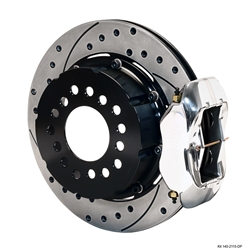 Wilwood 140-2115-DP FDL Rear Brake Kit, Big Ford 2.36 Off