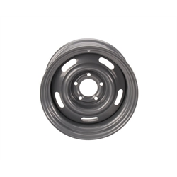 Speedway GM Style 15 Inch Rally Wheel, 5 on 4.75 Inch Bolt Pattern