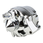 Tuff Stuff Silver Bullet One Wire Alternator, 140 AMP Rating