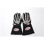 Garage Sale - Bell Skeleton Racing Gloves, Black, Size XL