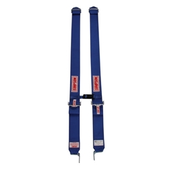Garage Sale - Simpson Shoulder Harness with Sternum Protector, Latch & Link, Blue