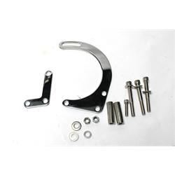 Garage Sale - Small Block Chevy Low Mount Alternator Bracket, Chrome