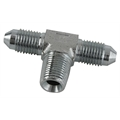 Goodridge 825-03P Steel Tee Adapter - Male AN3, 1/8 Inch NPT Male
