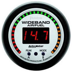 Auto Meter 5778 Phantom Digital Wideband Air/Fuel Ratio (AFR) Gauge