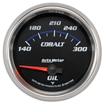Auto Meter 7948 Cobalt Air-Core Oil Temperature Gauge, 2-5/8 Inch