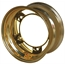 Aero 50-920540GOL 50 Series 15x12 Wheel, 5 on WIDE 5 BP, 4 Inch BS