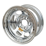 Aero 53-224760 53 Series 15x12 Wheel, BLock, 5 on 4-3/4 BP, 6 Inch BS