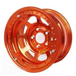 Aero 53984510WORG 53 Series 15x8 Wheel, BL, 5 on 4-1/2, 1 BS Wissota