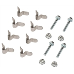 Dynatech&#174; 794-00320 U-Tab Kit - 8 Tabs, 4 Bolts