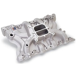 Edelbrock 21711 Performer Intake Manifold, Polished, Ford 351M,400