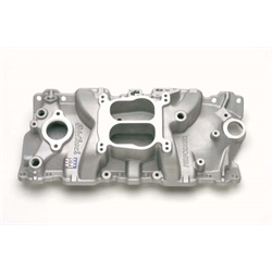 Edelbrock 3701 Performer Series Intake Manifold, Small Block Chevy