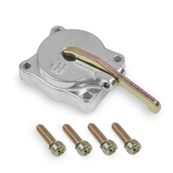 Holley 26-140SA Shiny Aluminum Accelerator Pump Cover, 50cc
