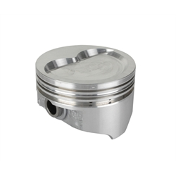 KB Chevy 400 Hypereutectic Pistons, Dish, 5.7 Inch Rod