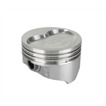 KB Chevy 400 Hyperutectic Pistons, Dish, 5.7 Inch Rod