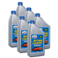 Lucas Oil 10688 SAE 10W40 Hot Rod Engine Oil, 6Qt Case