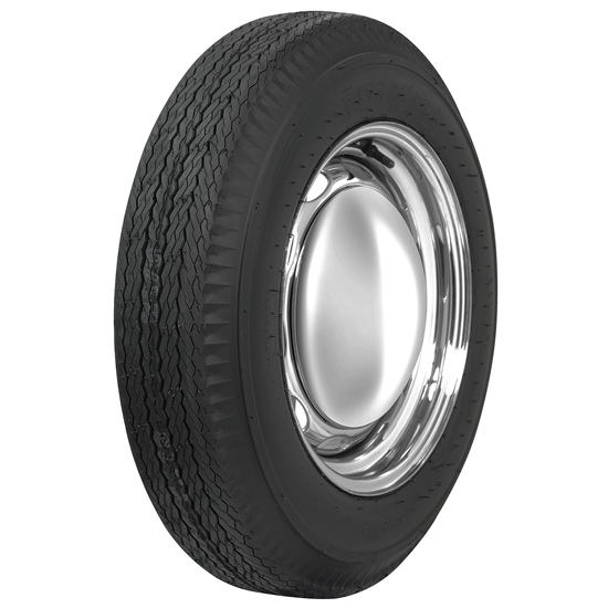 Coker Tire 556655 Firestone Vintage Bias Ply Tire, 560-15, Blackwall