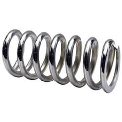 Garage Sale - 7 Inch 500LB 2-1/2 Inch Chrome Spring