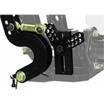 Wilwood 340-12412 Throttle Linkage Assembly for Floor Mount Pedal