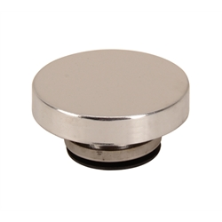 Round Chrome Radiator Pressure Cap, 15 Lbs
