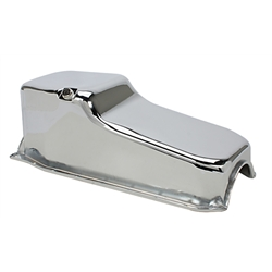 1986-Up Small Block Chevy Chrome Oil Pan