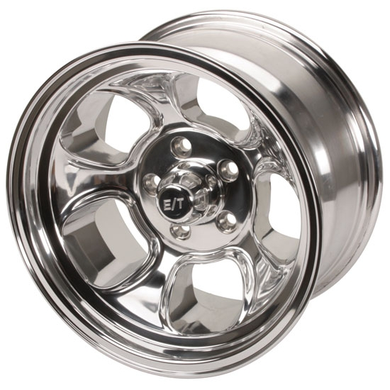 Team III Wheels ET Five Window Wheel-Pol-15x8-5 on 4.5-4 Inch Backspce