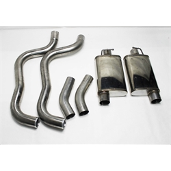 Garage Sale - Dynatech Stainless Steel 1967-69 Camaro Dual Exhaust Kit