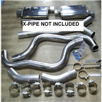 Garage Sale - Dual Exhaust Kit for 67-69 Camaro