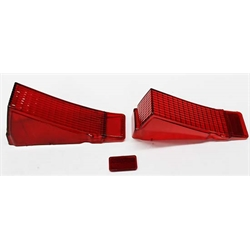 Dynacorn TL68AN Reproduction Tail Light Lenses for 1968 Chevelle, Pair