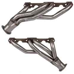 Small Block Chevy Clipster Headers, Black Painted