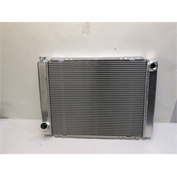Garage Sale - AFCO 80115N Universal Fit Racing Radiator, 27-1/2 X 19 Ford, -16 An Inlet
