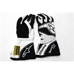 Garage Sale - Alpinestars Tech 1-Z Gloves, Black/White, Size Medium