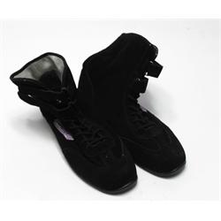 Garage Sale - Speedway Hightop Racing Shoes, Black, Size 12.5