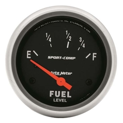 Garage Sale - Auto Meter 3515 Sport-Comp Air-Core Electric Fuel Level Gauge, 2-5/8