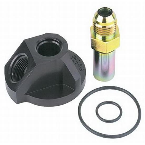 Hy-Lube Small Block Ford Remote Oil Filter Adapter