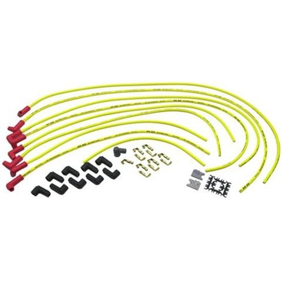 Accel 8021 8.8 Spiral Core Spark Plug Wires, HEI, 90 Degree Boot