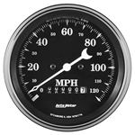 "Auto Meter 1779 Old Tyme Black, 3-3/8"" Speedometer, Electric"