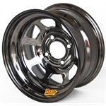 Aero 30-974535BLK 30 Series 13x7 Inch Wheel, 4 on 4-1/2 BP, 3-1/2 BS