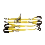 Four-Point Tie Down Kit, 10,000 lb. Rating