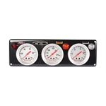 Longacre 44466 AccuTech Sportsman Racing 3 Gauge Panel