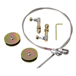Lokar DLR-2100 Universal Door Latch Cable Release Kit, Pair