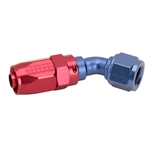 Fragola 224505 45 Degree Adapter Hose End Fitting, -8 AN to -6 AN