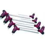 Titan Tools 12748 8-Piece SAE Detent Ball-End T-Handle Wrench set