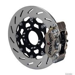 Wilwood 140-12764 NDL Radial Mount Rear Brake Kit, 12.00, Ti Rotor