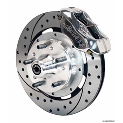 Wilwood 140-7675-DP 12.19 Inch Front Disc Brake Kit, 1964-74 GM