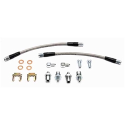 Wilwood 220-10685 10 Inch Universal Flexline Rear Brake Line Kit, PB