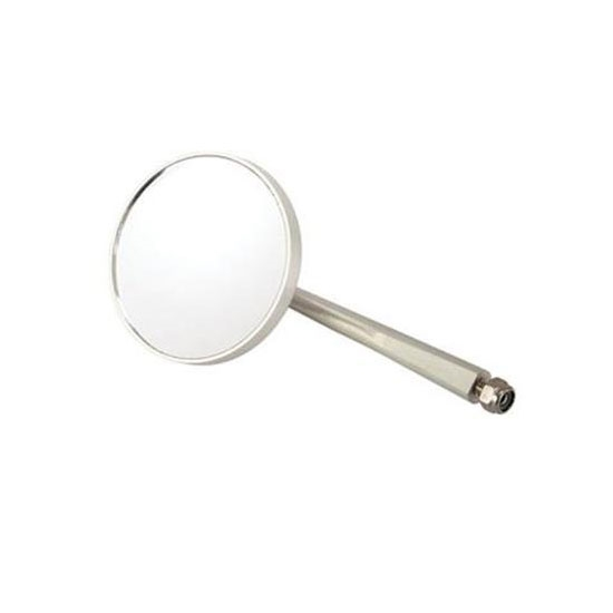 Billet Round Mirror, 5-1/2 Inch Arm
