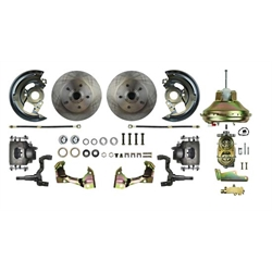 The Right Stuff AFXDC02C Front Power Disc Brake Conversion,Camaro/Nova