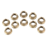 Speed Fast Self Locking Jet Nuts, 1/4-28 Thread, Pack/10